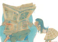 What's new? / Què hay de nuevo? (ilustración de Simona Ciraolo)