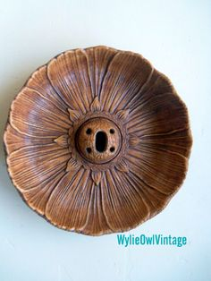 Vintage Multi Products Inc Sunflower Nutcracker by WylieOwlVintage, $12.50