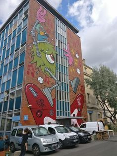 JACE - Les Grand Voisins · A Journey of street art