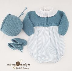 La Imagen Puede Contener: Una Persona, R - Diy Crafts Knitted Baby Clothes, Cute Baby Clothes, Doll Clothes, Other Outfits, Girl Outfits, Eco Clothing, Knitted Dolls, Baby Sweaters, Baby Knitting Patterns