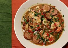 shrimp and sausage stew