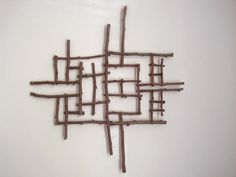 twig wall art #twigart jikits: twig wall art
