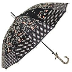 LOL SURPRISE POLKA DOTS GLAM BUBBLE PVC PLASTIC UMBRELLA CHILDREN/'S WHITE BLACK