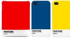 Pantone cases for iPad/iPhones.
