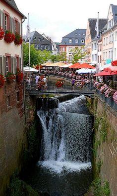 Saarburg, Rhineland-Palatinate, Germany (by Arnim Schulz on Flickr)