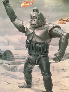 "The kaiju eiga (literally ""monster movie"" in Japanese) was born in 1954 with Ishiro Honda's landmark masterpiece Godzilla. King Kong, Giant Monster Movies, Robot Monster, Japanese Monster, Cinema, Cultura Pop, Fantasy Movies, Vintage Japanese, Horror Movies"