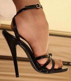 sandals with heels Sexy High Heels, High Heels Boots, Beautiful High Heels, Open Toe High Heels, Sexy Legs And Heels, Hot Heels, Ankle Strap Heels, Stilettos, Stiletto Heels