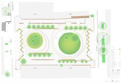 Plaza 31: un nuevo espacio público en San Isidro, Lima,Cortesía de Oficina de…