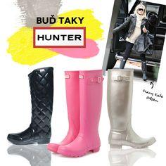 Nastává nám festivalová sezóna a jistě si všichni vzpomeneme na rozbahněné prostory právě těchto akcí. Buďme letos prozíravý a připravme se na to s Hunter! Vychutnáváte si také tu atmosféru radši se suchou ponožkou? https://www.bigbrands.cz/shoes?rid=fb-hunter