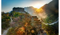 the great wall of china text | Great Wall Of China Rays Of Light | 1280 x 768 | Download | Close