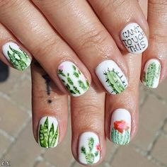 Cute, Cool, Simple and Easy Nail Art Design & Ideas – Page 17 of 52 – short nails New Nail Designs, Simple Nail Art Designs, Nail Polish Designs, Easy Nail Art, Cool Nail Art, Nails Design, Nail Design Spring, Spring Nail Art, Spring Nails