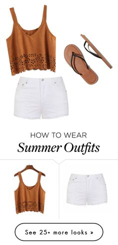 Simple Summer Outfits by elizabethfjane on Polyvore featuring Ally Fashion and Abercrombie & Fitch