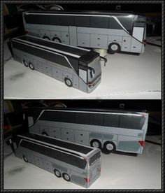 Setra TopClass 500 Bus Paper Models Free Download - http://www.papercraftsquare.com/setra-topclass-500-bus-paper-models-free-download.html