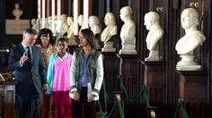 Michelle Obama and daughters in Dublin for series of engagements
