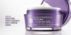 To order, please visit www.nutrimetics.com.au/crystalmasters :) New Restore Anti-Ageing Night Creme