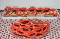 The Elmo Birthday Party Cookies