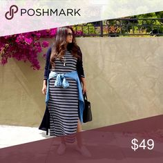 🎉HOST PICK🎉H&M dress New with tag. H&M Dresses Maxi