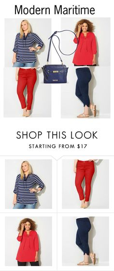 """""""Modern Maritime"""" by avenue365 on Polyvore featuring Avenue and modern"""
