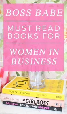 Must-Read Books For Women in Business | Girl Boss | Boss Babe | Women Entrepreneurs | You are a Badass Book | if You Have to Cry Go Outside http://elleandk.com #ad