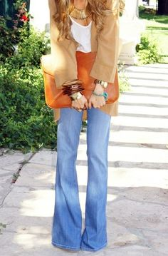 """""""Fashion changes, but style endures."""" – Coco Chanel. Flares come and go as a trend, but they have never truly gone out of style since they first hit the scene..."""
