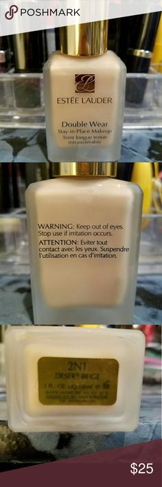 Estee Lauder  double wear foundation makeup About 95 percent full. Not my color Estee Lauder Other