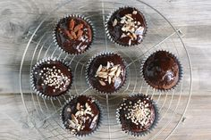 Schoko Muffins | gesund, ohne Zucker, ohne Mehl | Mrs Flury - Recipes. Lovely, Easy & with a healthy touch