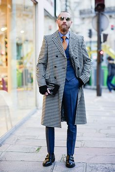 20 street style shots from outside Men's Fashion Week that have us like woah