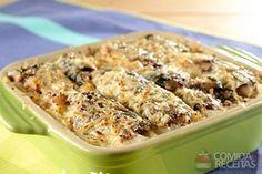 Receita de Gratinado de batata com sardinha em receitas de salgados, veja essa e outras receitas aqui!