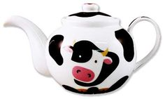 Anything cow on this site! Cow Kitchen Decor, Turquoise Kitchen Decor, Cow Decor, Cow Ornaments, Cow Mug, Holstein Cows, Tea Cozy, Cow Print, Bottle Crafts