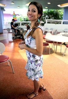 Patrícia Poeta usa penteado que é sucesso (Foto: Leonardo Viso/ Gshow)