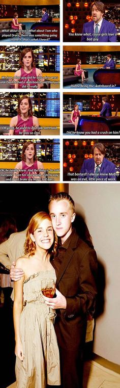 Emma Watson Talking About Her First Crush - 5 Pics