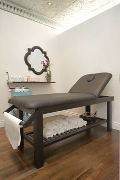Bare Wax Bar treatment room