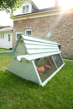 most practical coop for our yard