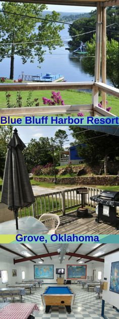 Blue Bluff Harbor Resort offers lakeside lodging that won't break the bank! Check them out on your next trip to Grand Lake for  fun, family friendly lodging!