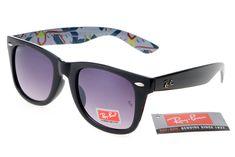 Ray-Ban Rare Print 2185 Black Pattern Frame Gray Lens RB1122 [RB-1131] - $14.80 : Cheap Sunglasses,Cheap Sunglasses On sale
