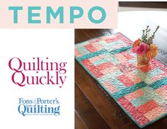 How to Make the Tempo Table Runner