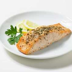 Easy Herbed Grilled Salmon Recipe