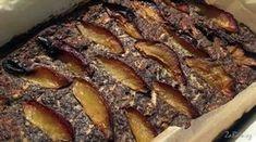 Makový koláč s jablky a švestkami a bez mouky Ham, Pork, Beef, Cakes, Fitness, Kale Stir Fry, Meat, Cake Makers, Hams