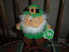 20.22 (similar)-Irish Leprechaun Vintage Stuffed Doll Kiddiefun Dublin