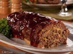 Cheesy BBQ Meatloaf. SOO GOOD, tried and true!