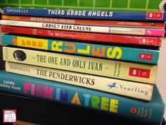 Inspiring Life-Long Readers -read alouds for 3rd grade