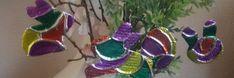 Aluminiumfolie-Paashangers maken voor in de paastak! Pasen