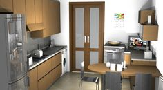 Cucina componibile by #Scavolini #kitchen #kitchens @Sermobil #design #project