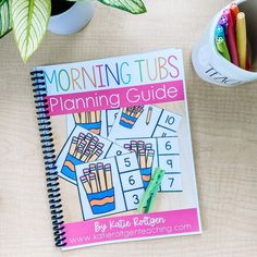 If you've been wanting to use morning tubs in your classroom but you're not sure where to start, download this FREE planning guide today! It will guide you through the steps of planning and implementing tubs successfully.