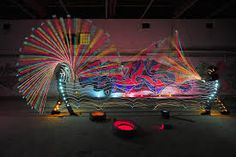 I am really astonished with every photos that Dennis Calvert takes using the spectacular light painting photography technique. These 30 photos looks amazing Light Painting Photography, Amazing Photography, Art Photography, Movement Photography, Graffiti Photography, Concept Photography, Photography Lighting, Paint Fight, Long Exposure Photos
