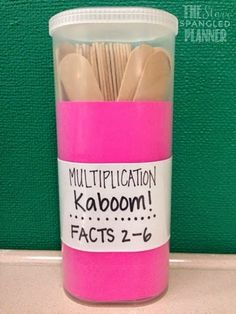 Do you use Kaboom! in your classroom? It has been my go-to center for the past few years, whether I'm teaching Firsties, or now third graders.  If Kaboom! is new to you, or it is something you haven't yet tried in your classroom, here are some great reasons to give it a try: 1. It is highly engaging! 2. It lasts for as long as