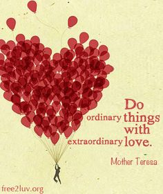 When you rock LUV, EXTRAordinary things happen! #Free2Luv #Love