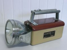 Vintage Flashlight Torch Lamp, Hunting Camping Flashlight, Hunter Ray-O-Vac Brand - Vintage Travel Trailer and Home Decor
