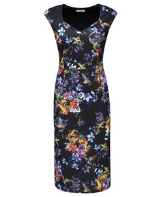 """Joe Browns"" Joe Browns Totally Tropical Scuba Dress at Simply Be"