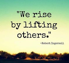 lift each other <3 why not embrace one another for all we are that is amazing <3 it feels amazing to give the gift of love <3